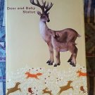 BRAND NEW Deer Statue - Doe with Fawn  FREE SHIPPING