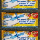 30 Scrub Buddies Wet Sweeper Cloths Refill  NEW  3 packs - 10 in each Pack