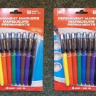 4 Packs (8 markers each pack) Colored Permanent Markers 639277982940