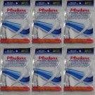Lot of 500 Plackers Fine Dental Floss - 10 packs of 50
