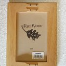 Rare Woods 4x6 Wood Picture Frame with glass included - 027991287272