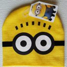 Despicable Me Minions Movie Minion Knit Beanie Cap Hat NEW Yellow