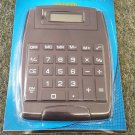 JOT JUMBO KEY 8 DIGIT DISPLAY DESK TOP CALCULATOR LARGE DISPLAY BLACK