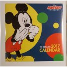 3 NEW 2017 Wall Calendars -  Mickey Mouse, Finding Dory, Minions  FREE SHIP