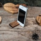 iPad gadget support, iPad wooden base, iPhone wooden holder, cell phone base, cell phone stand