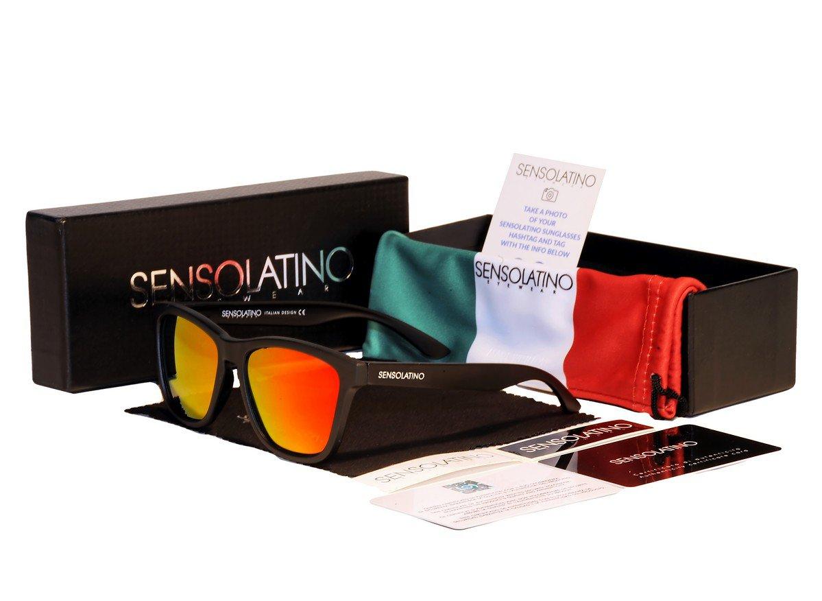 Sensolatino Italian Polarized Sunglasses Venice Pink