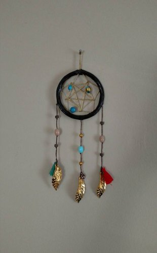 Bohemian Gold Dreamcatcher