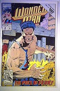 Marvel Comics Wonderman #16 1992 F/VF