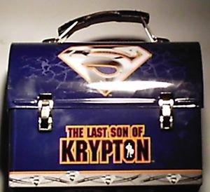 Superman Last Son of Krypton Tin Lunchbox