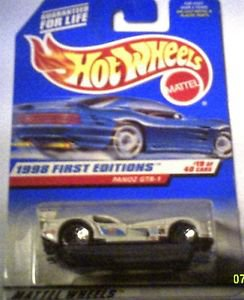 Hot Wheels 1998 First Editions Die Cast 1:64 scale Panoz GTR-1 MOC