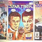 DC Comics Star Trek Volume 1 Issues 5, 6, & 7