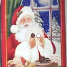 Oreo 1998 Limited Edition Christmas Tin w/ Santa
