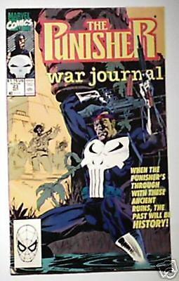 Marvel Comics Punisher War Journal # 23 F/VF