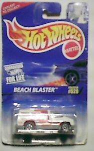 Hot Wheels 1996 Die cast 1:64 scale Beach Blaster MOC #624