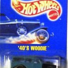 Hot Wheels 1940's Woody 1:64 scale Die Cast MOC 1991