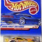 Hot Wheels 2000 First Editions Die Cast 1:64 scale Prostock Firebird MOC