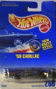 Hot Wheels 1959 Cadillac Die Cast 1:64 MOC Collector # 266