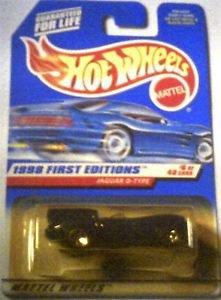 Hot Wheels 1998 First Editions Die Cast 1:64 scale Jaguar D-Type MOC