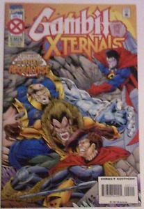 Marvel Comics X Men  Gambit & the Externals Issue # 2 VF/NM Condition