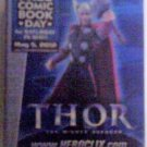 Marvel Comics 2012 Free Comic Book Day Thor Miniature Action Figure MIB