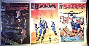 DC Comics Blackhawk # 7, 8, 13, 14, 15, & 16 VF/NM (1990)