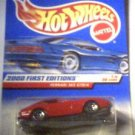 Hot Wheels 2000 First Editions Die Cast 1:64 scale  Ferrari 333 SP MOC