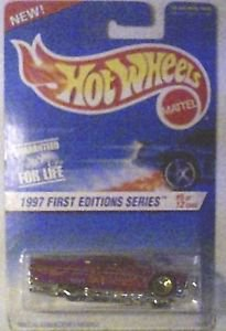 Hot Wheels 1997 First Editions 1959 Chevy Imapa 1:64 scale Die Cast MOC