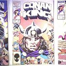 Marvel Comics Conan the King # 36, 37, 40, 49, & 50