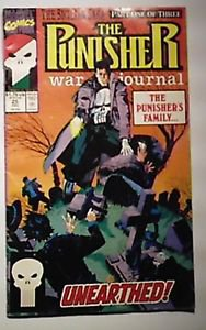 Marvel Comics Punisher War Journal Issue # 25 VG/F Condition