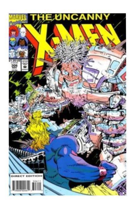 Marvel Comics The Uncanny X-Men #306 (Nov 1993, Marvel) F/VF