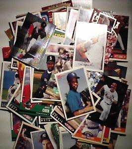 Random  lot of 140 Baseball Cards Topps Upperdeck Donruss 1988 to present