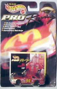 Team Hot Wheels Pro Racing 1997 Mc Donalds Bill Elliott 1:64 Die Cast Car