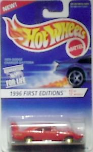 Hot Wheels 1996 1st Editions 1970 Dodge Charger Daytona MOC 1:64 scale die cast