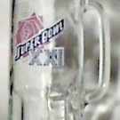 New York Giants vs Denver Broncos Superbowl XXI Glass Beer Mug