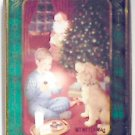 Oreo 1994 Christmas Metal Cookie Tin Featuring Santa Claus