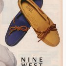 Nine West Women' s shoes Full page Print Ad May 1993 Glamour Magazine