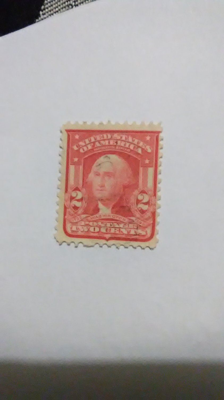 Rare 2 cent Washington stamp