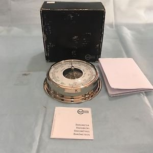 Barigo Ship's Aneroid Barometer Type 111-CR. Made In Germany.