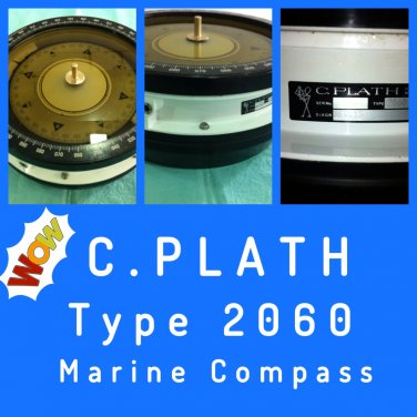 Cassens & Plath Marine Ship Compass  Type 2060 Made In Germany
