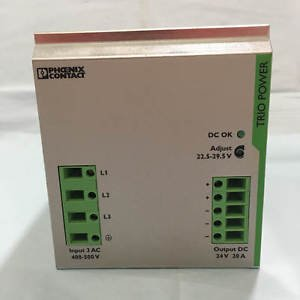 Phoenix Contact TRIO PS/3AC/24DC/20 Power Supply. Free Shipping.