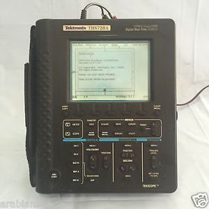 Tektronix THS720A 100 MHz Scope DMM.Digital Real Time 500MS/S Made in USA