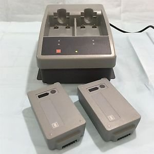 Station Li-ion Charger for LifePak 15 with 2 Batteries. Free Shipping