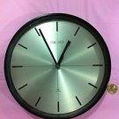 Seiko Quartz Ship's Clock  Metal and Brass Seikosha Inc Japan