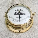 Brass Oil Damped Inclinometer for Luxury Boats and Yachts. Free Shipping