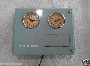 Seiko Marine Master Clock Model QC-6MS. Made in Japan.