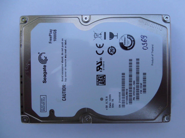 "eC HDD Seagate ST1000LM010-9YH146 1Tb 2.5"" SATA CC9F TK  0369 FreePlay Donor Drive"