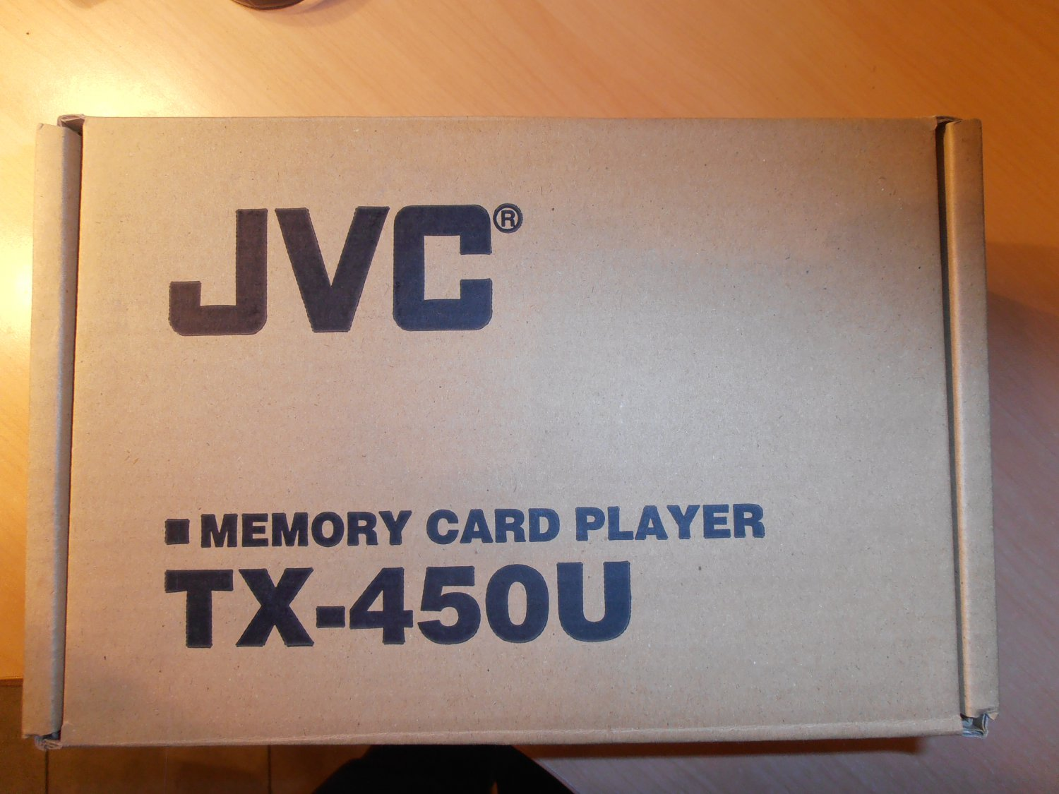 eC JVC TX-450U Memory Card Player