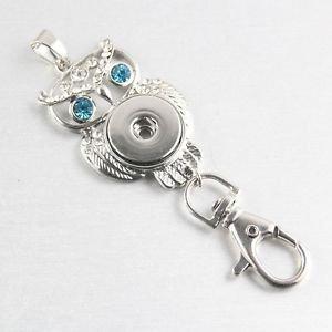 Snap Button Keychain