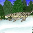 Chasing a Dream (Snow Leopard Print)