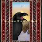 A Raven Sunrise Print
